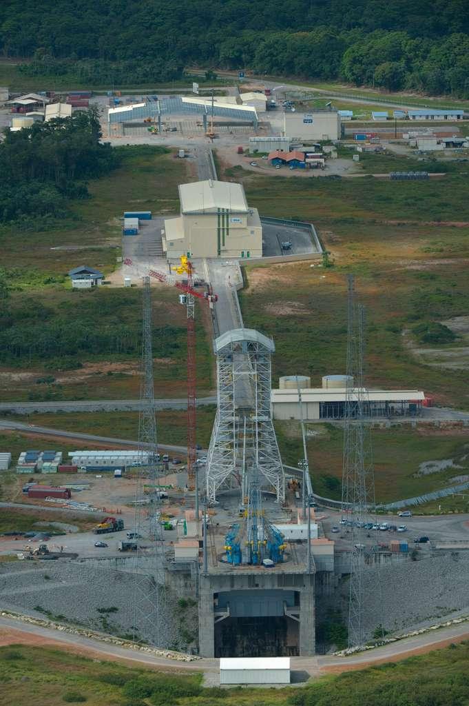 Les installations au sol de Soyuz en Guyane