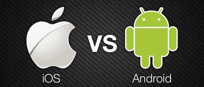 Opterez-vous pour un smartphone équipé d'Android ou d'iOS ? ©technofaq