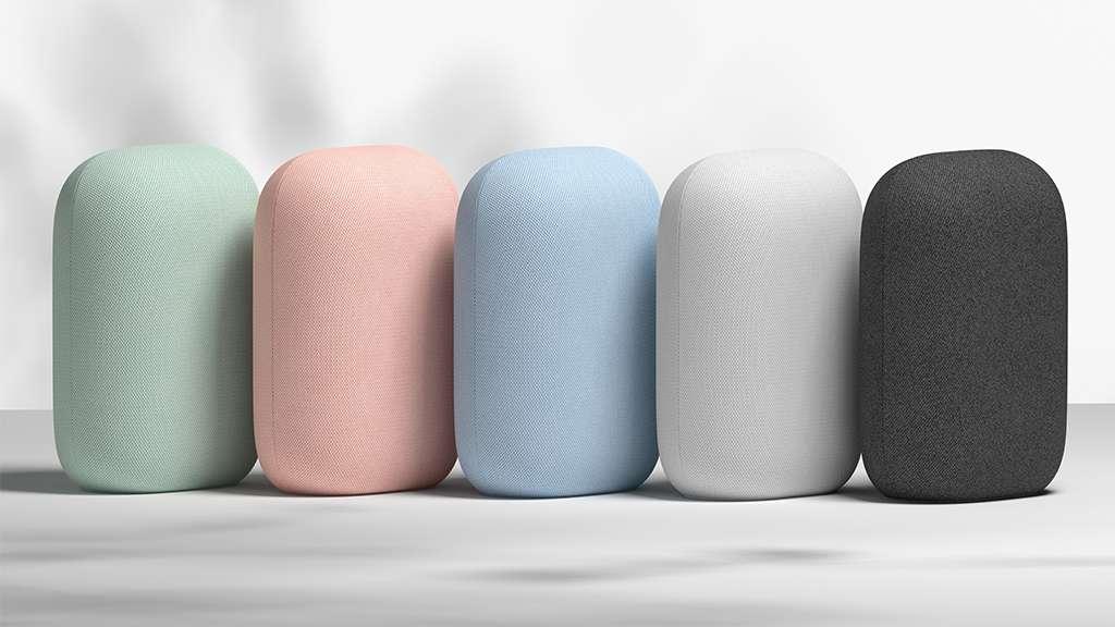 Cinq coloris différents pour trouver celui qui s'accorde le mieux avec son intérieur. © Google