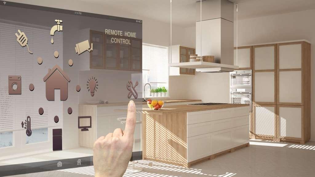 La domotique s'invite de plus en plus dans nos foyers. © ArchiVIZ, Adobe Stock