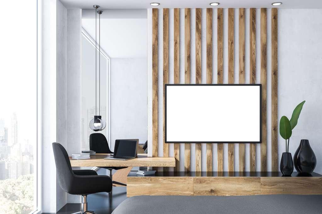 Un écran installé à bonne distance améliore le confort. © denisismagilov, Adobe Stock