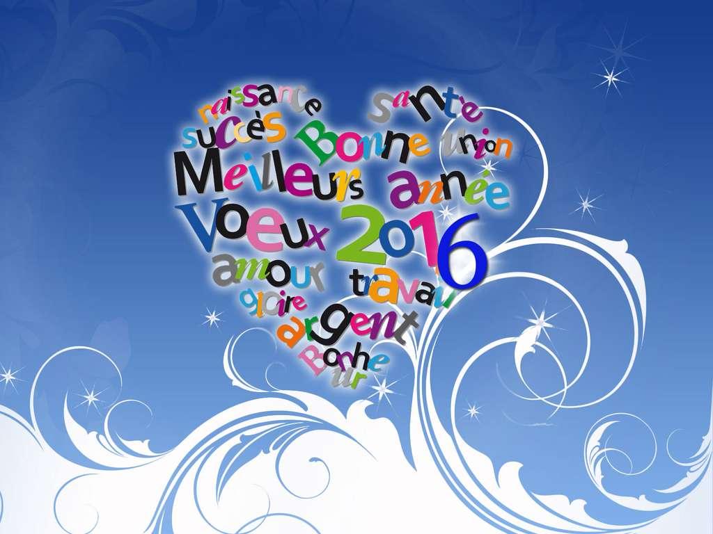 Bonne année, tous nos voeux