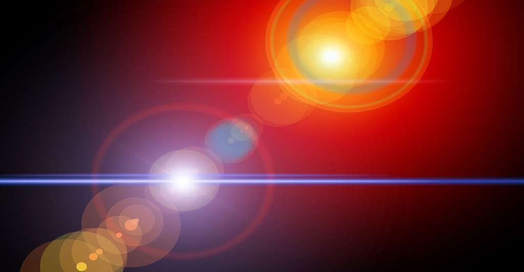 En étudiant la lumière, Albert Einstein comprit que l'éther, notion développée au cours de l'Antiquité, n'existait pas. © Geralt, Pixabay, DP