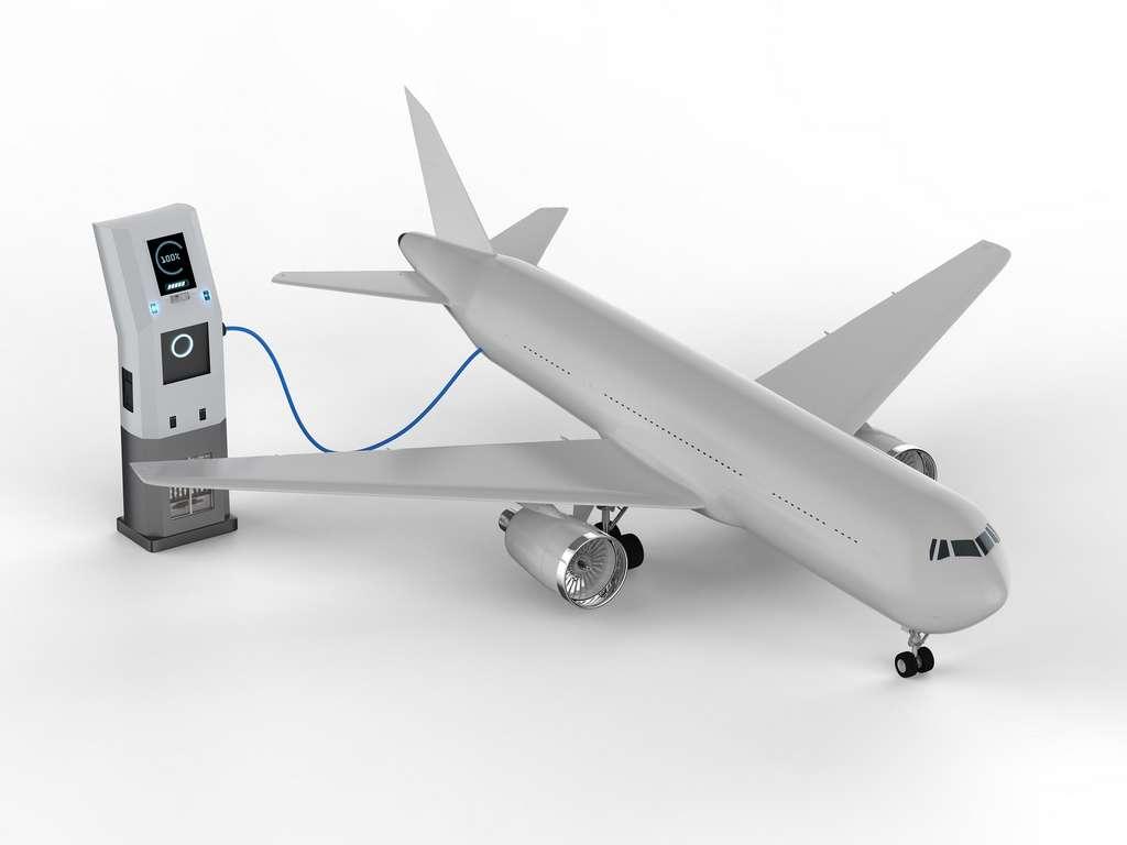 Parmi les défis de demain : arriver à construire un avion long courrier de grande capacité en utilisant l'énergie électrique. © phonlamaiphoto, Adobe Stock