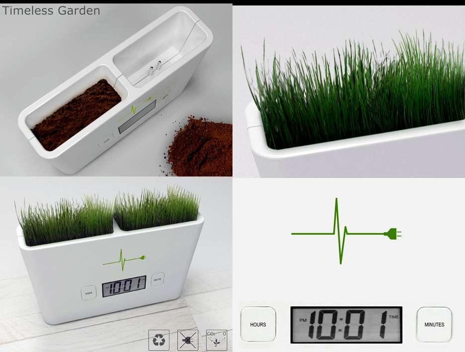 Timeless Garden, l'horloge jardinière