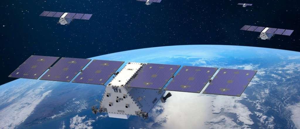 Cette nouvelle gamme de satellites militaires pourra fournir l'état précis d'un champ de bataille, pratiquement en temps réel. © Lokheed Martin