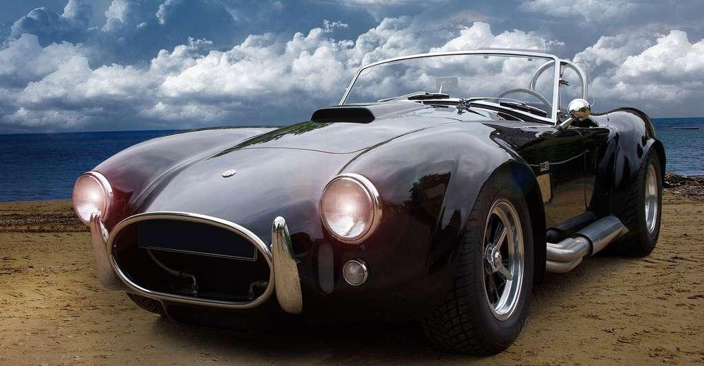 Réussir son album photo en dix conseils pratiques. Ici, photo d'une AC Cobra, voiture anglo-américaine des années 1960-1970. © Lucky 013, Pixabay, DP