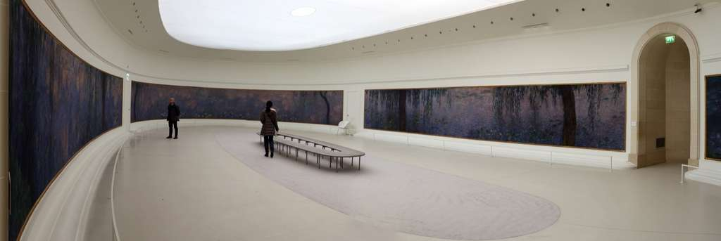 Immersion au milieu des Nymphéas de Monet, au musée de l'Orangerie, à Paris © Sailko, CC by-sa 3.0