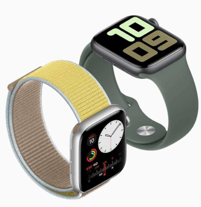 La principale nouveauté de l'Apple Watch 5 ? Son écran Retina always on display. © Apple Store