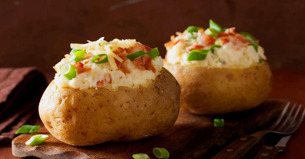 De délicieuses pommes de terre cuisinées. © Olga Miltsova, Shutterstock