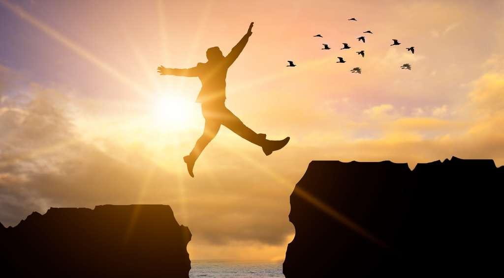 On dit que l'art du vol est simple : il suffit d'oublier l'approche imminente du sol en cours de chute. Arthur saura-t-il maîtriser cet art difficile ? © Sarayut_sy, Adobe Stock