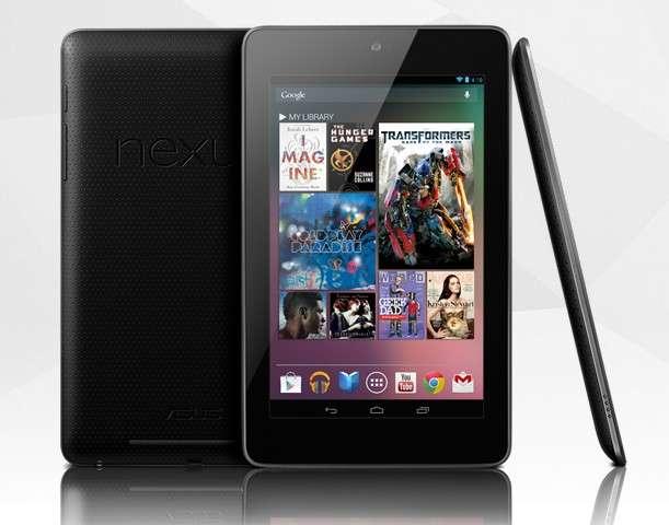 La tablette Google Nexus 7, fabriquée par Asus, est pour le moment uniquement disponible pour les pays anglo-saxons. © Google
