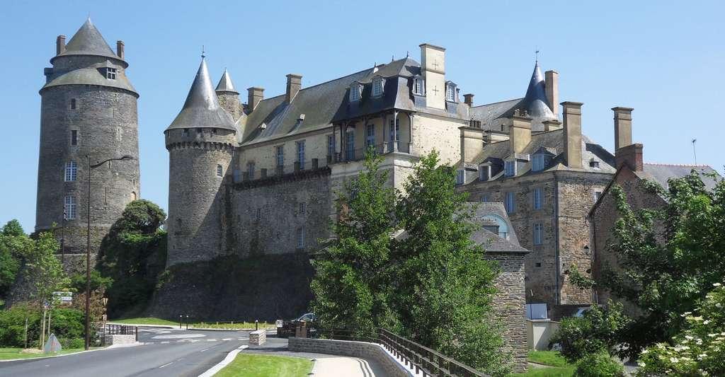 Le château de Châteaugiron. © Châteaugiron, CC by-sa 4.0
