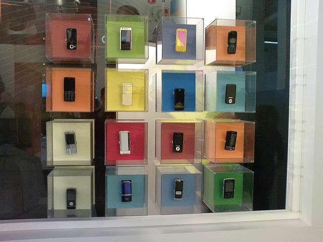 Smartphones utilisant le système d'exploitation Symbian. © James Nash, CC