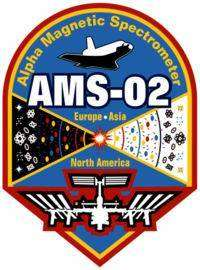 Logo NASA de la mission AMS
