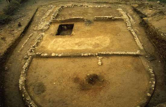 Fig. 13 : Construction de la phase Panecillo (VIII-V ème siècle BC) © J. Guffroy IRD