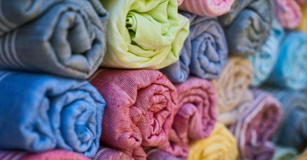 Le coton est composé de quelque 90 % de cellulose, un polymère naturel. © Engin_Akyurt, Pixabay, CC0 Creative Commons
