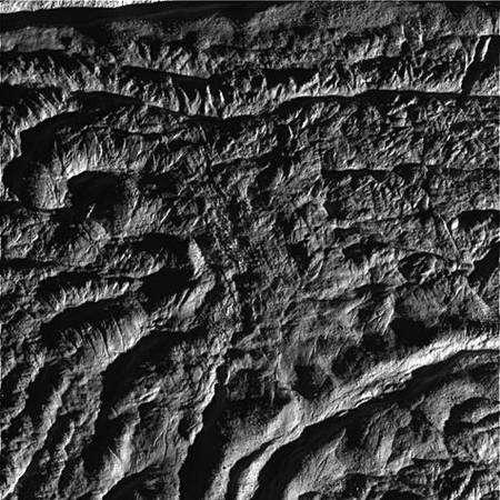 Quatrième image. Crédit Nasa/JPL.
