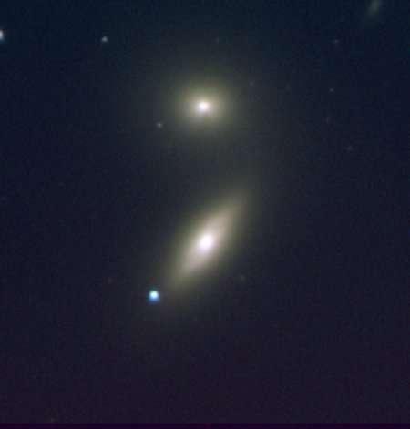 Ici, une supernova de type Ia. © Zwicky Transient Facility