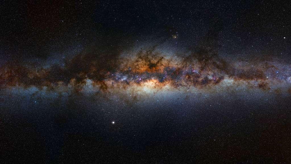 Panorama de la Voie lactée, notre galaxie