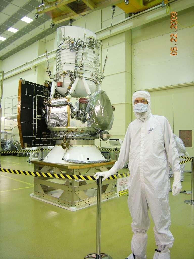 Le satellite Wise en 2009 avant son lancement. Cet observatoire infrarouge a fait de nombreuses découvertes. © Nasa/JPL-Caltech/Wise
