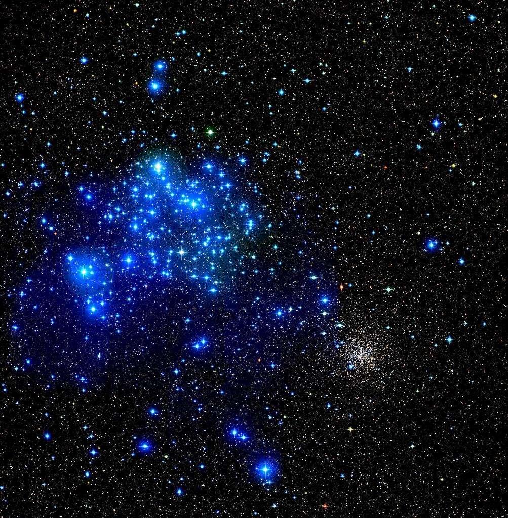 M35 : un amas de jeunes étoiles dans la Voie lactée