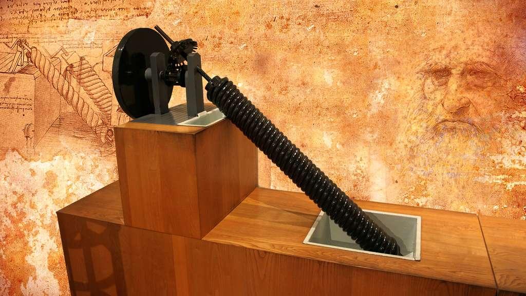 La vis d'Archimède et l'ingénierie hydraulique