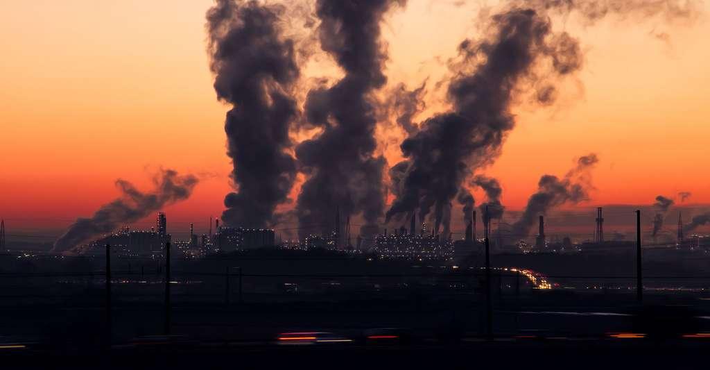 Émissions de gaz à effet de serre. © SD-Pictures, Pixabay, DP