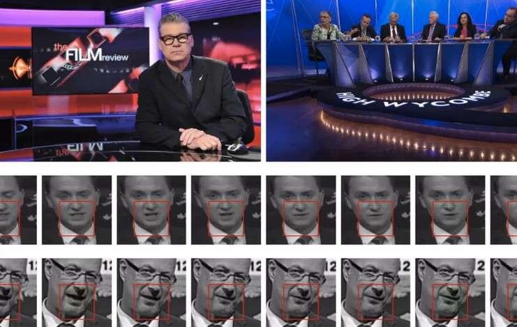 Pour entrainer son IA, l'équipe de l'université d'Oxford et de DeepMind a travaillé sur un échantillon de vidéos issues de programmes télévisés de la BBC. © Oxford university, DeepMind