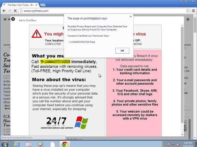 Certains navigateurs bloquent l'action des adwares. © Google