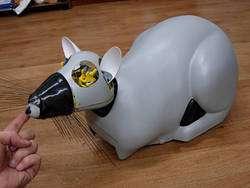 Psikharpax le robot-rat. © Christophe Grand, Steve Nguyen et Patrick Pirim, LIP6, ISIR & BVS