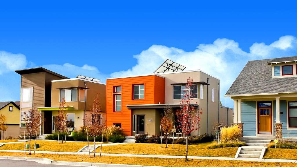 La maison solaire moderne