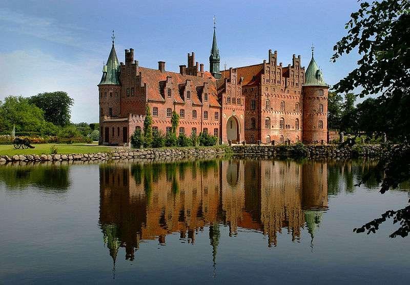 Le château d'Egeskov, au Danemark