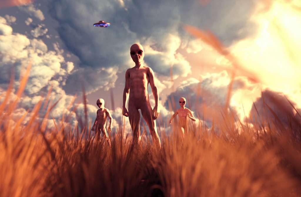 Des habitants du système Ross 128, qui inclut une exoplanète de la taille de la Terre, ont eu plus de 2.000 ans pour observer notre planète transiter devant le Soleil. © chainat, Adobe Stock