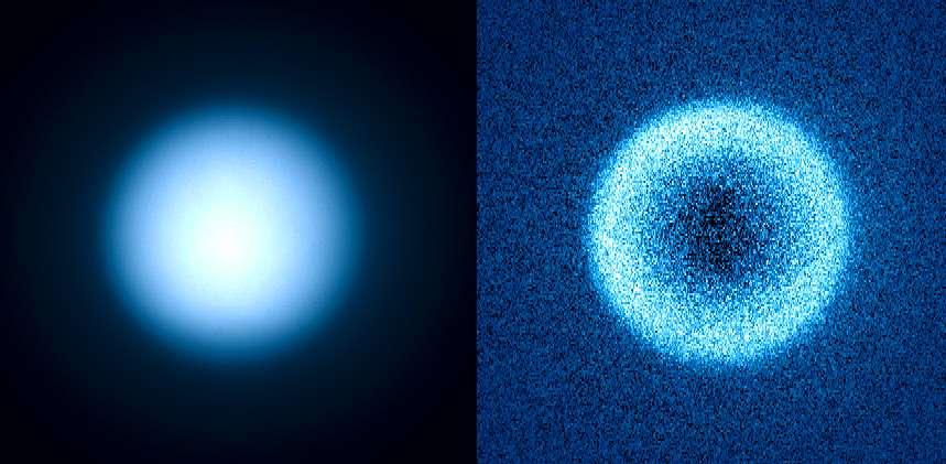 Titan en lumière polarisée grâce à Sphere