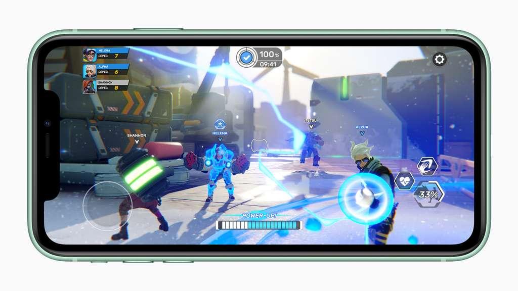 Le processeur 13 Bionic permet de jouer à n'importe quel jeu, même les plus gourmands en puissance © Apple