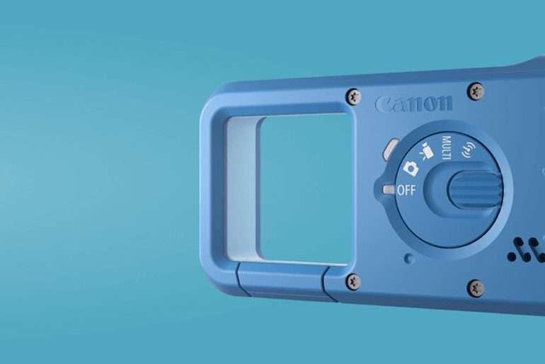 Comme sur les appareils photo numérique, une petite molette permet de passer d'un mode à un autre. © Canon