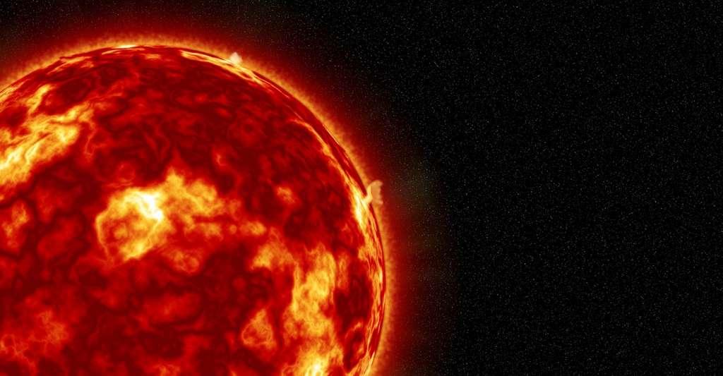 Le nouveau modèle proposé par les chercheurs allemands permet aussi d'expliquer des phénomènes jusqu'à présent difficiles à modéliser comme les doubles pics d'activité observés sur certains cycles du Soleil. © Buddy_Nath, Pixabay License