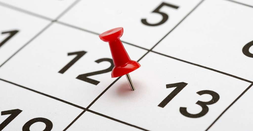 Selon les années, notre calendrier comporte un à trois vendredis 13. © Jne Valokuvaus, Fotolia