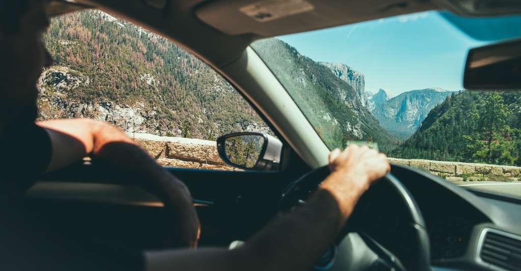 音乐真的可以帮助我们在开车时集中精力吗? 这有待证明。  ©奥斯汀·尼尔