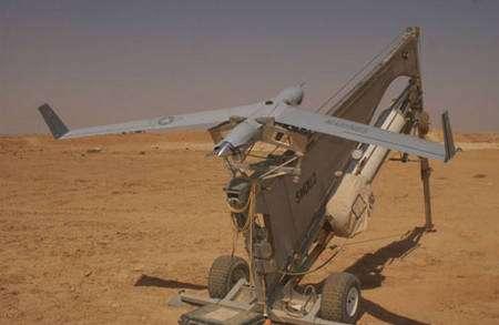 Lanceur de drones