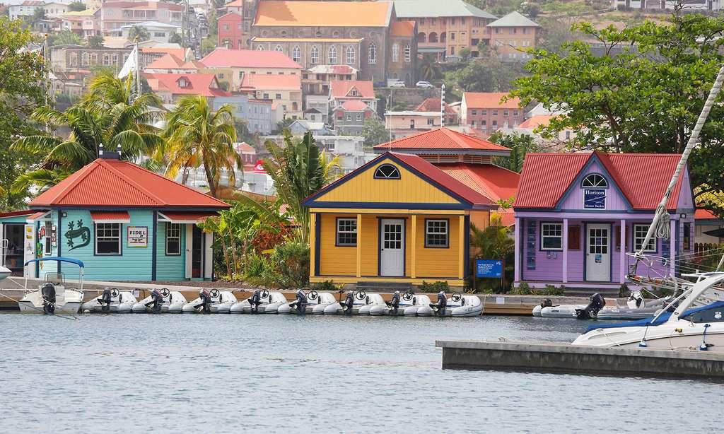 Saint-George, Grand anse Bay. © Antoine, tous droits réservés
