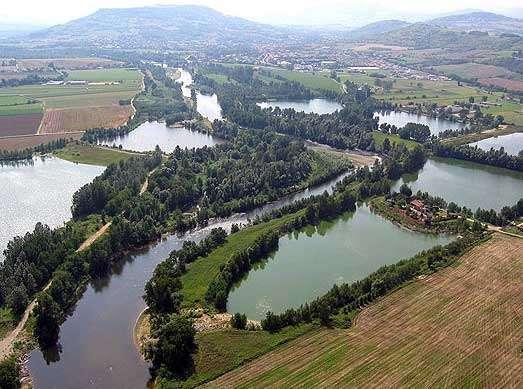 Mitage du Val d'Allier par les gravières à Mirefleurs, 63 © LN-CEPA-JS - Reproduction interdite sans autorisation de l'auteur