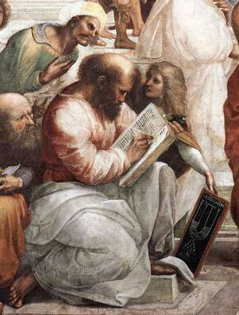 Pythagore peint par Raphaël. © DP