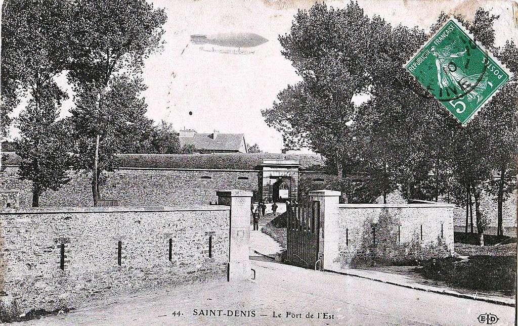 Le fort de l'Est est situé non loin du Stade de France. © DP