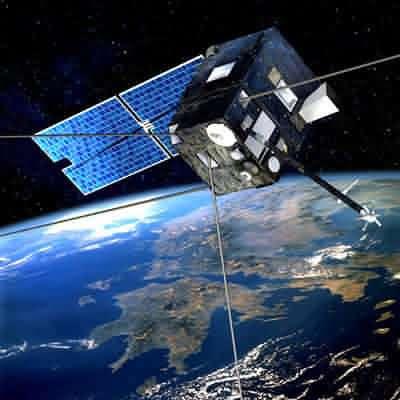 La sonde Demeter en orbite autour de la Terre (crédit : ESA)