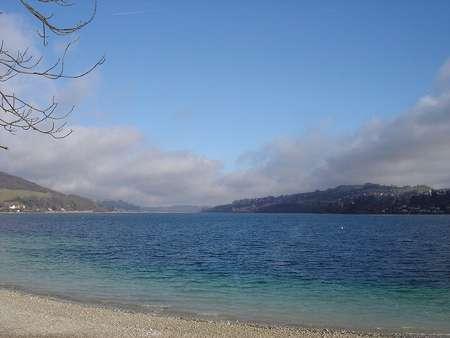 Lac de Paladru © MFD - Licence de documentation libre GNU, version 1.2