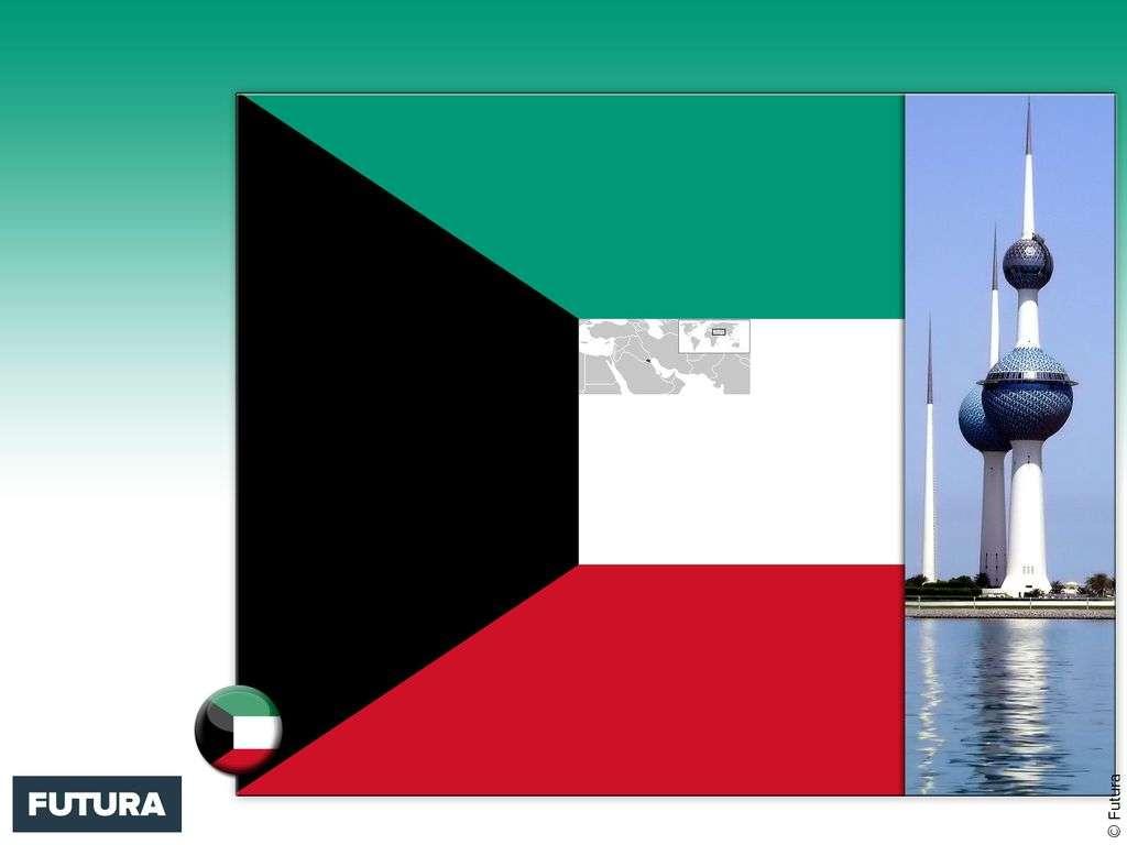 Drapeau : Koweit