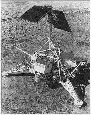 Surveyor-1 (image d'artiste). Crédit : Nasa