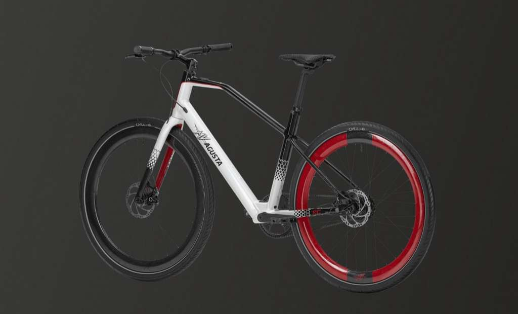 Le vélo électrique MV Agusta Amo RC. © MV Agusta